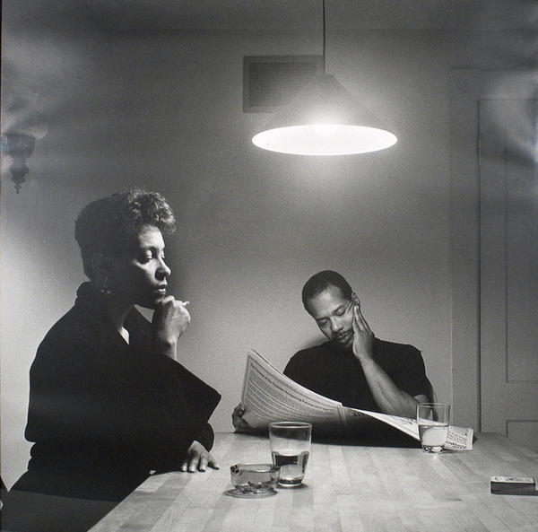 Carrie Mae Weems, untitled photo from the Kitchen Table series, 1990.
