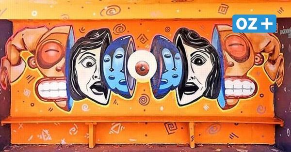 App weist den Weg: Stralsunder Kunstschüler machen die Stadt zur Galerie