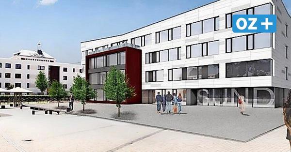"""Baustart für Stralsunder """"Schulzentrum am Sund"""" – mit 30 Minuten Verzögerung"""