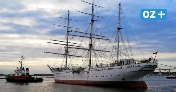 """Stralsund will """"Gorch Fock"""" kaufen: Von wem die Stadt dafür Rückendeckung bekommt"""