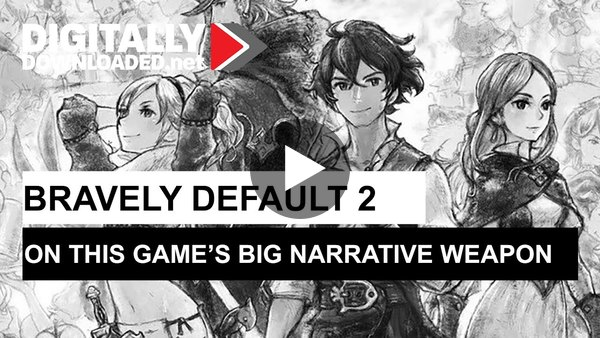 Bravely Default 2: On this game's big narrative weapon