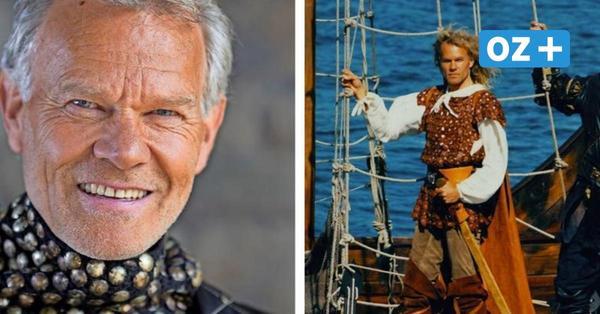 Von Ralswiek ins Fernsehen: Ex-Störtebeker Norbert Braun wirbt jetzt für Milka