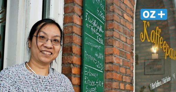 Mutig: Junge Wismarerin aus Vietnam übernimmt Traditionscafé mitten im Lockdown