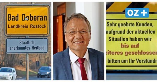 """Doberans Bürgermeister schreibt an Regierung: """"Menschen sterben wirtschaftlichen Tod"""""""