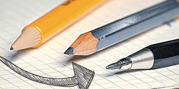 In search of the perfect pencil.