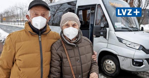 Leipzig: Mit dem Impfshuttle schneller zur Spritze