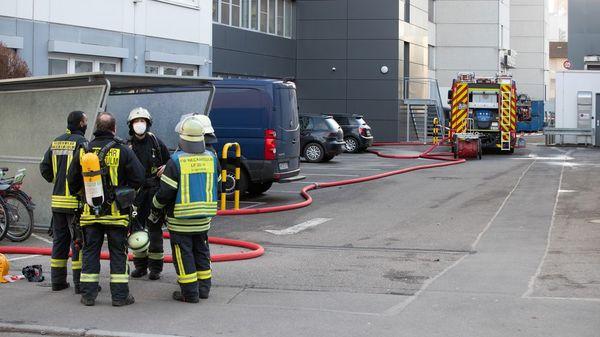 Drei Verletzte nach Explosion in Lidl-Verwaltungsgebäude in Neckarsulm