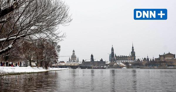 Die weiße Pracht taut – wie schlimm wird das Hochwasser in Dresden?