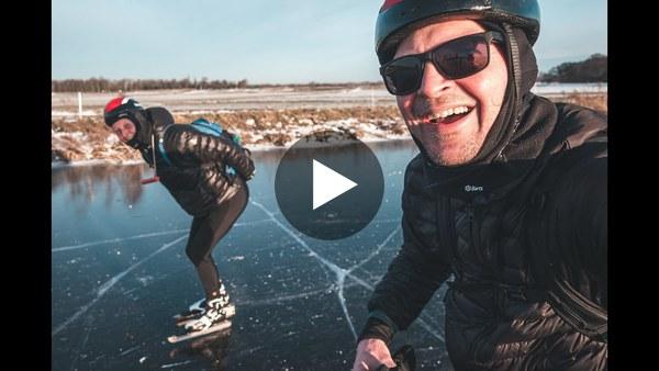KAAG - Schaatsen tijdens zonsopkomst (video)