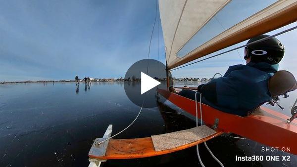 KAAG - Beelden vanaf ijszeiler Zant (video)