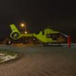 Traumahelikopter opgeroepen bij incident