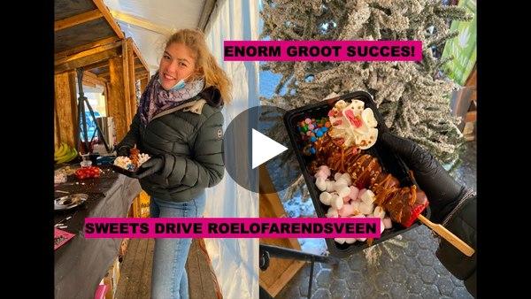 ROELOFARENDSVEEN - Vandaag geopend: drive thru Apres-ski feest met heerlijke verse, warme wafels (video)