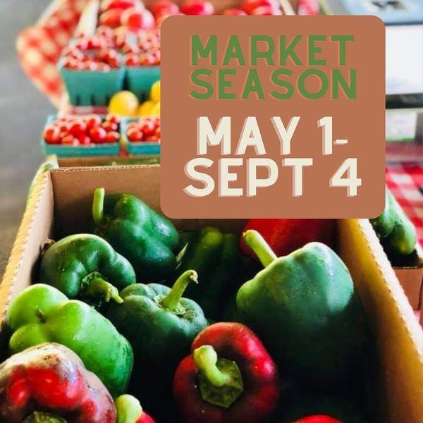 Robertson County (TN) Farmers' Market - Market Season Will be Here Soon!