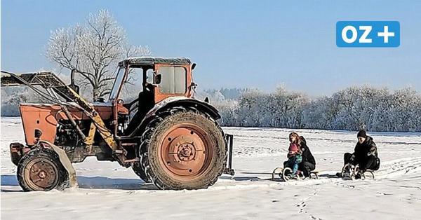 OZ-Kolumne aus Grimmen: Winterfotos fürs Album