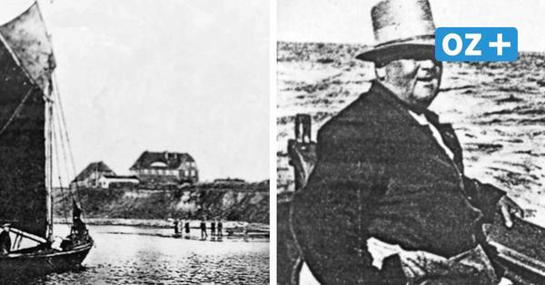 """Winter 1936 auf der Greifswalder Oie: Alle warteten auf """"Postkorl"""" und sein Segelboot"""