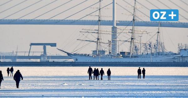 Bildergalerie: Stralsund feiert den märchenhaften Schnee-Winter