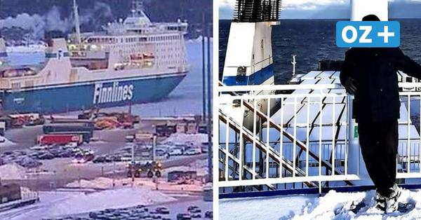 """Unterwegs mit der """"Finnlady"""": Eisige Überfahrt von Helsinki nach Lübeck"""