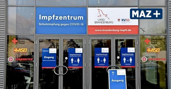 Impfzentrum in Brandenburg an der Havel: Neustart mit Hindernissen