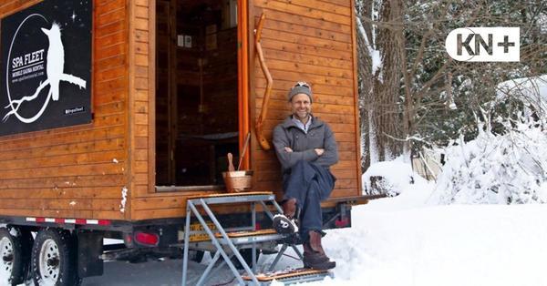 Schleswig-Holsteiner startet mit Miet-Sauna in den USA durch