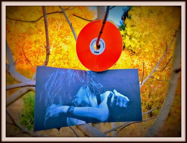 Artwork inside the CD of Binary.