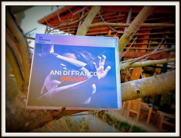 Ani Di Franco's 2017 album, Binary, on CD.