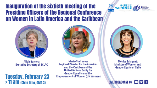 Virtual event, SDG5: high-level authorities from the region will analyze fulfillment of gender equality commitments in the context of the pandemic