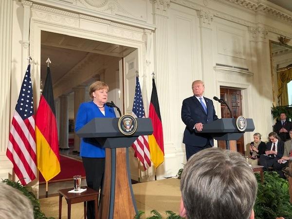 2018 im Weißen Haus. Foto: Fabian Reinbold