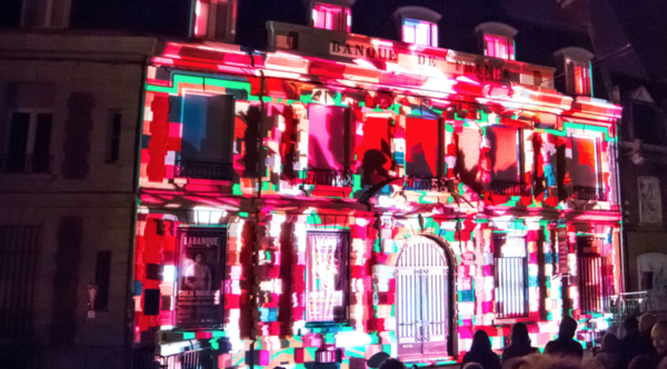 Le Video Mapping Festival va illuminer les bâtiments de la région - Video Mapping Festival: lichtinstallaties op gebouwen in regio