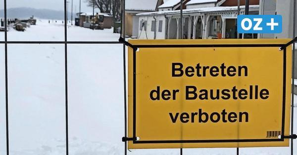 Wegen Wintereinbruch: Eröffnung des Lauterbacher Hafens verzögert sich