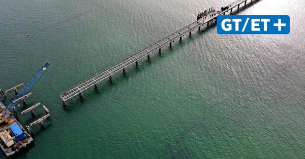Ende eines Wahrzeichens: Seebrücke am Timmendorfer Strand wird abgerissen
