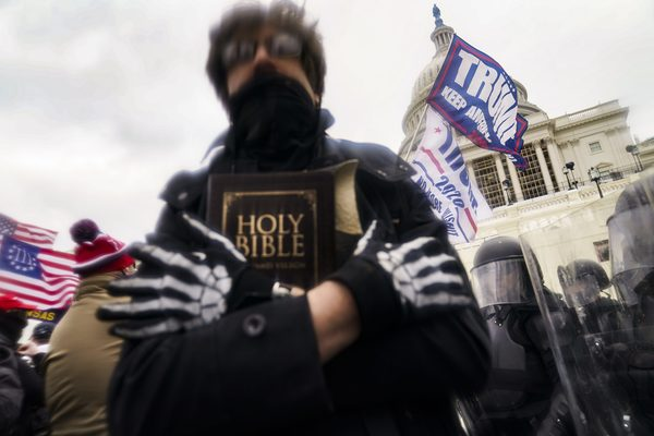"""From wordandway.com """"Taking the White Christian Nationalist Symbols at the Capitol Riot Seriously"""""""