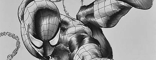 Mike Deodato Jr. - Spider-Man Original Cover Art