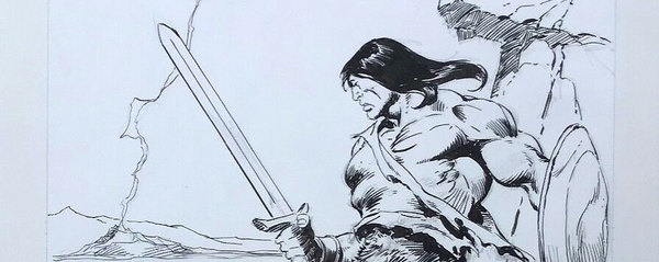 John Buscema - Conan Original Comic Art