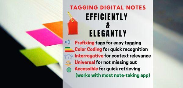 'Tagging' digital notes - Efficiently and Elegantly > Alvistor