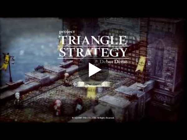Triangle Strategy: First look stream!