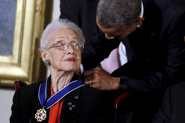 President Barack Obama awarded her a Presidential Medal of Freedom
