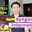 Syngene International Business Update | Q3 FY21 Result Analysis