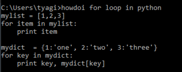 how do i for loop in python