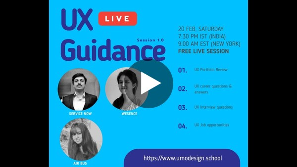 UX GUIDANCE - A Panel of design leaders answering UX Career Questions