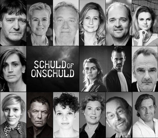 De cast van De Droommoord. Foto Hummelinck Stuurman Theaterbureau.