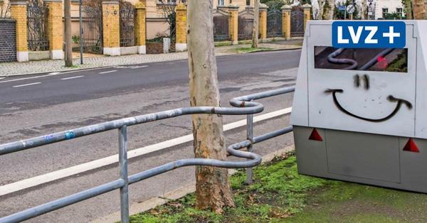 """Leipzigs """"Tarnblitzer"""" sind zunehmend Ziel von Vandalismus"""