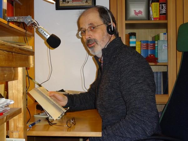 Frank Dittmer wird zum Podcast-Leser. Foto: Privat