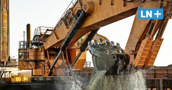 Fehmarn: Viele Tonnen Materialien und Beton für den Bau des Fehmarnbelt-Tunnels