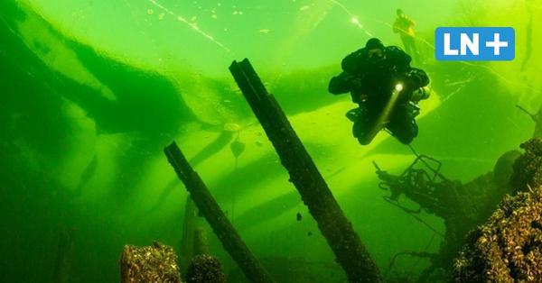 Bosau: Eistauchen im See - Hobby für erfahrene Taucher
