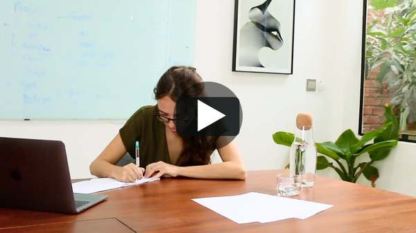 Discussing Brand Strategy with Angelique Delamere. on Vimeo