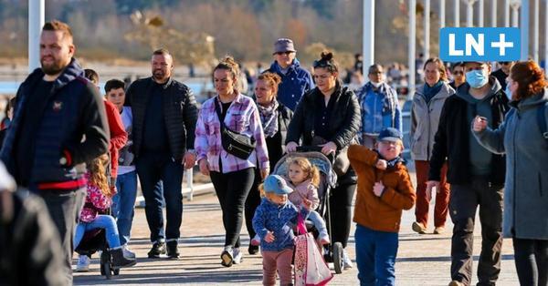 Travemünde: Wetter lockt Besucher an den Strand – Auswärtige abgewiesen