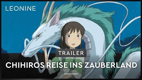 Chihiros Reise ins Zauberland - Trailer (deutsch)