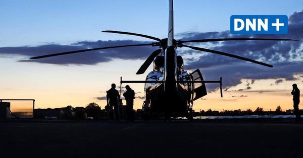 Hubschrauber über Dresden: Das steckt hinter den abendlichen Einsätzen am Himmel