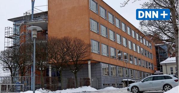 Klassenzimmer statt Dachterrasse im Gymnasium in Radeberg