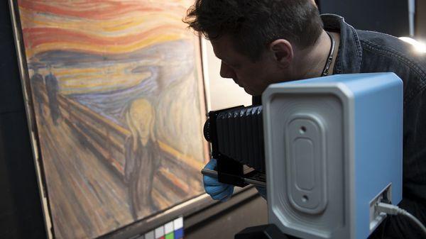 """Weltberühmtes Gemälde """"Der Schrei"""": Edvard Munch hat diese Botschaft im Bild hinterlassen"""